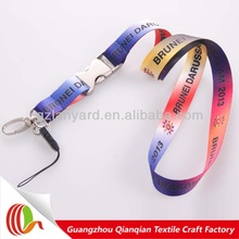 2014 High quality necck lanyards with mobile string