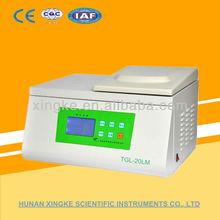 TGL-20LM refrigerated centrifuge/lcd separator