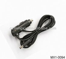 Car Cigarette Lighter Cable with Angle DC Plug