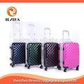marco de aluminio caja de la carretilla de equipaje de aluminio caso