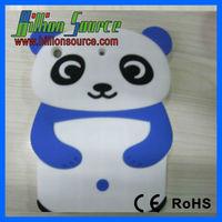 Panda Silicone Skin Soft Gel Cover Case For Ipad Mini