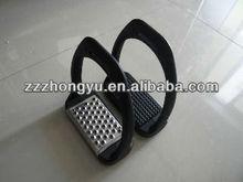 black plastic saddlery stirrups