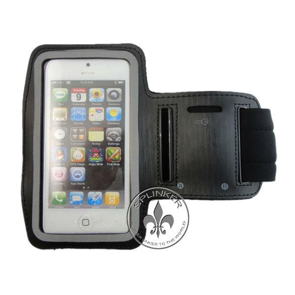 Waterproof PVC Neoprene Stretch Smart Phone Sport GYM Armband Case Bag For Iphone 5 O8110-60