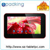 "New arrival 7"" capacitive Allwinner A20 dual core android 4.2 OS"
