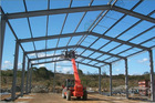 Light steel structure of Prefabricated family house