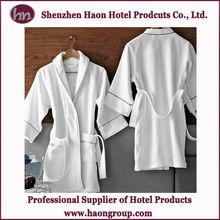 luxury 5star hotel a bathrobe with embroidered logo