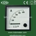 Be-72 medidor de panel analógico 1000a conectar con derivación 60mv dc amperímetro