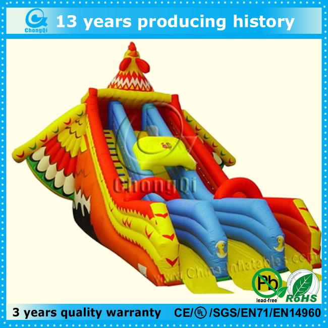販売のための新しい巨大なインフレータブルスライド、 高品質インフレータブル大きなスライド販売のための