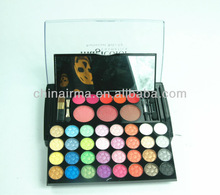 multi-color high quality eye shadow with lip gloss, blushes in one set ES131