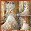 GW0639 New fashion sweetheart many layers customed elegant bridal dresses 2014