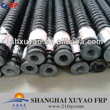 All thread self-drilling hollow fiberglass reinforcing rod