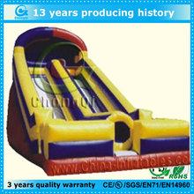 Hot inflatable slip slide,best selling inflatable slip and slide for sale