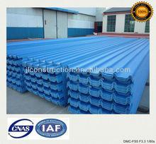 PVC plastic roofing tile warehouse using