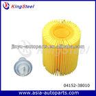 Automotive Parts Oil Filters 04152-38010 For Toyota Lexus