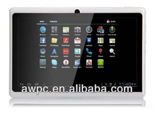 """7"""" tablet pc,optional for dual camera,android 4.0+512MB+RAM 8GB+5-point touch capacitive screen 2g phone calling by SIM card"""