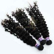 highest quality 5A fashion style virgin cheap malaysian super deep wave human hair guaranteed not gray hair