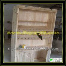 White wooden gradevin/wine cabinet for bar