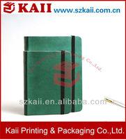 2013 PU notepad ,PU notebook dairy , PU notebook with elastic band
