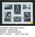 Frame da foto de abertura 6 colagem moldura em preto kxxh- jh220- 991_3853