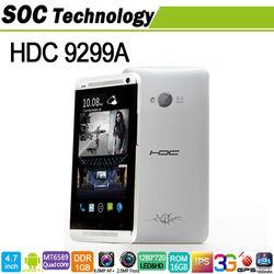 HDC 9299A quad core MTK6589 Smartphone 4.7'' Android 4.2 8MP camera 16GB