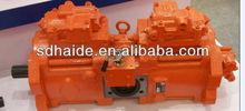 Hyundai pelle pompe hydraulique, hyundai pompe principale, 70z k3v112, k3v140, r55, r60, r70, r80, r110, r130, r150, r200, r210, r230, r250