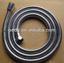 stainless steel flexible extendable shower hose tube