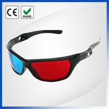 Plastic red blue 3d glasses pc games