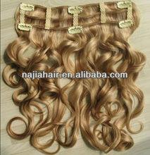 jazz wave hair MOQ 1 pcs Audrey new virgin malaysian jazz wave hair clip in hair extensions