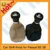 Car leather gear shift knob cover for VW Passat B5 3B
