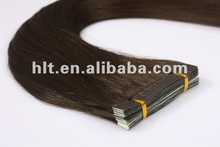 8cm*1cm tape in/on hair extension tape weft, Brazalian remy hair