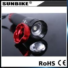 high bright Aluminium bike cree led headlight 3Walt
