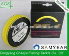 DIAOWAN 80LB Zhejiang Dongyang Braided Fishing Line Yellow