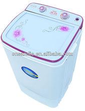 6.8kg vasca singola semi automatico mini vetro temperato di plastica lavatrice