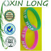 hip hop silicone wristbands embossed silicone bracelets