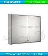 Aluminum Sliding Bathroom Mirror Cabinet CARMA-48