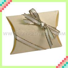 Pillow shape party favor boxes