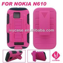 factory new product celular flip cover for robot case for NOKIA Lumia 610