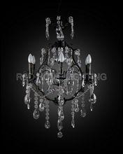 Europen antler crystal chandelier lamp