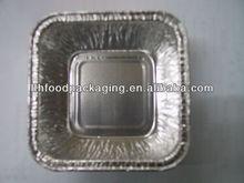 Rectangle Aluminium foil container for food