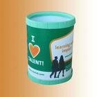 round plastic tissue box holder for promotion gift