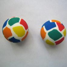 60mm kids rubber bouncing ball