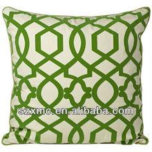 High-grade simple lines sofa design printed cushion/cushion covers
