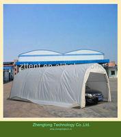 Steel Frame Metal Car Parking Canopy YR1219