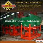 High capacity tungsten, tin, iron gold jig concentrator