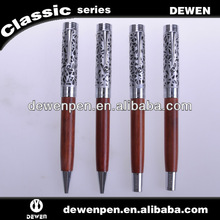 2013 new style Dewen gift advertise promotional wood ball pen