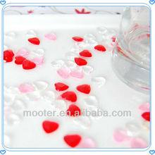 Heart Shape Acrylic Shamballa Beads For Wedding Centerpiece