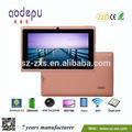 "Zxs- melhores 7 polegadas android tablet pc,"" 7 allwinner a23 q88 android 4.2 1.5 ghz q88 notebook tablet mini computador pc mid"