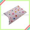 Popular color polka dot gift boxes pillow box