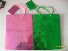 2013 wholesale shopping paper bags for christmas day