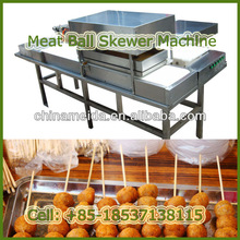 High Quality Automatic meat ball skewering machine Meat Skewer Making Machine for Sale